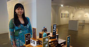 CIT student exhibits miniature artwork
